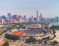 Soldier Field de Chicago view.jpg aérienne