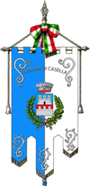 Casella (italien) -Gonfalone.png
