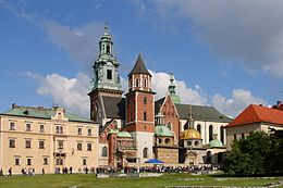 Cracovie - Cathédrale de Wawel 01.jpg