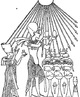 C + B-Egypte-Fig12-AkhnatenWorshippingSun.PNG