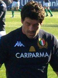 2011-02-05 Rugby Andrea Masi ITA - IRL 6 Nations cropped.jpg