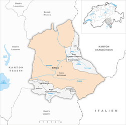 Bellinzona - Carte