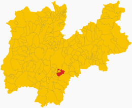 Besenello - Carte