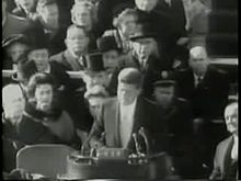 Fichier: inauguration Kennedy footage.ogv