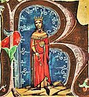 Béla II (Chronicon pictum 114) .jpg