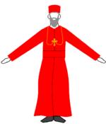 Syriaque orthodoxe Patriarch.png