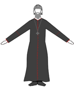 Syriaque orthodoxe Priest-Monk.png