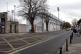 Nouvellement terminé stand, Leinster Rugby Terrain Donnybrook.jpg